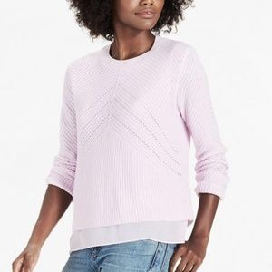 Lucky Brand Nico Pullover Purple Lavender Sweater